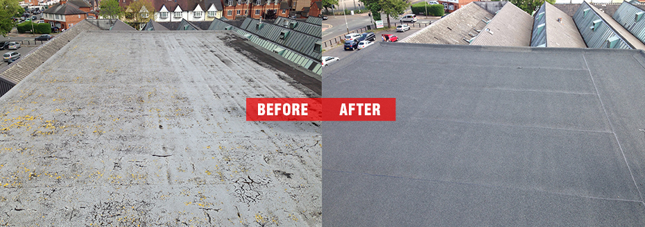 Attractive Factory Flat Roof Maintenance