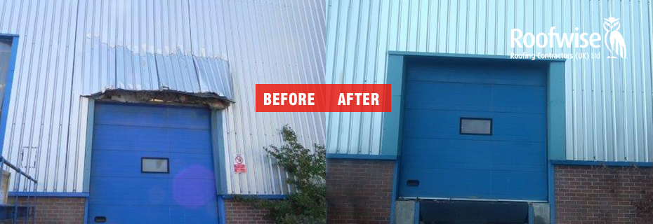Repair of Industrial Unit Wall Cladding in Nuneaton