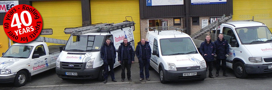 Your Local Leicester roofing team