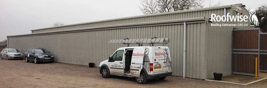 Building wall cladding installed in Leicestershire